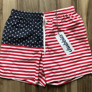 Chubbies Americana Men's Swim Shorts, size L